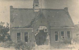 Gemeentehuis van Pannerden tijdens de Tweede Wereldoorlog