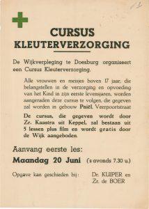 J2 Wijkverpleging Doesburg Cursus kleuterverzorging Vanaf maandag 20 juni Pniël, Doesburg