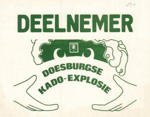 G34 Deelnemer Doesburgse kado-explosie Doesburg