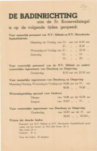 G40 Badinrichting Openingstijden Fr. Rooseveldsingel, Doesburg