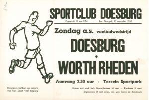 B2 Voetbalwedstrijd Doesburg - Worth Rheden Zondag Terrein Sportpark