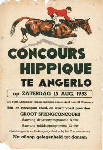 B47 Concours Hippique 1953 Angerlo