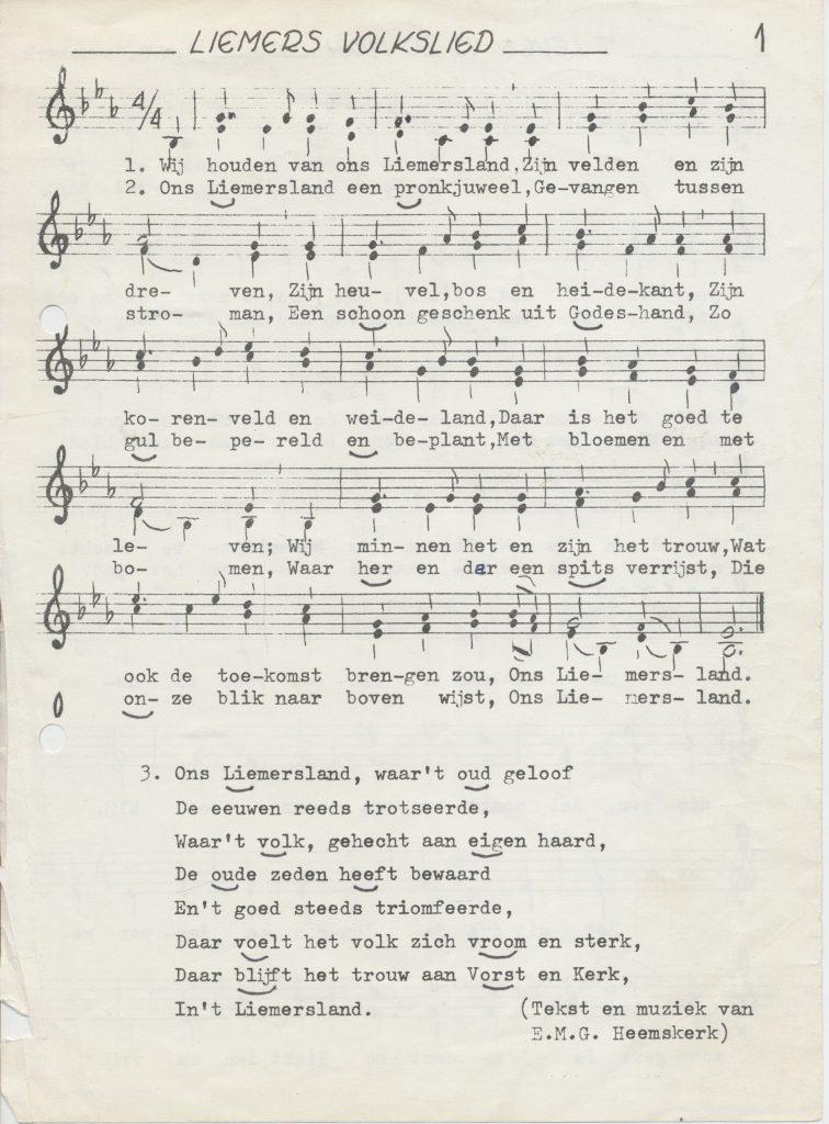 Liemers Volkslied